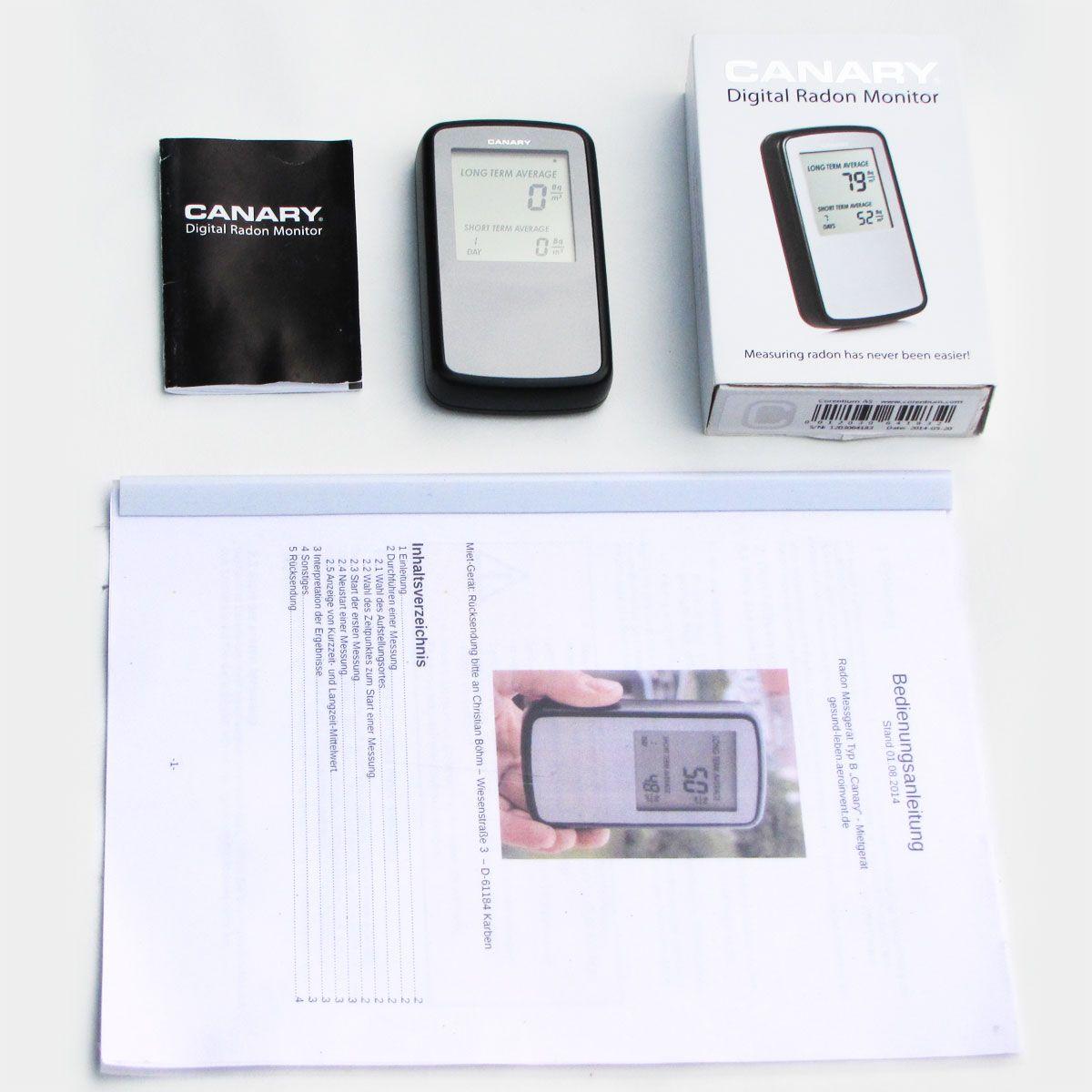 Fabelhaft Radonmessgerät mieten - kostenloser Versand &XS_55