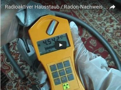 Radon-Nachweis-Video