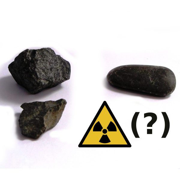 radioaktive Steine, Mineralien