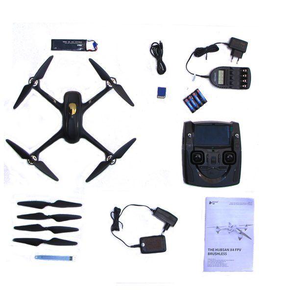 Drohne mit Zubehör