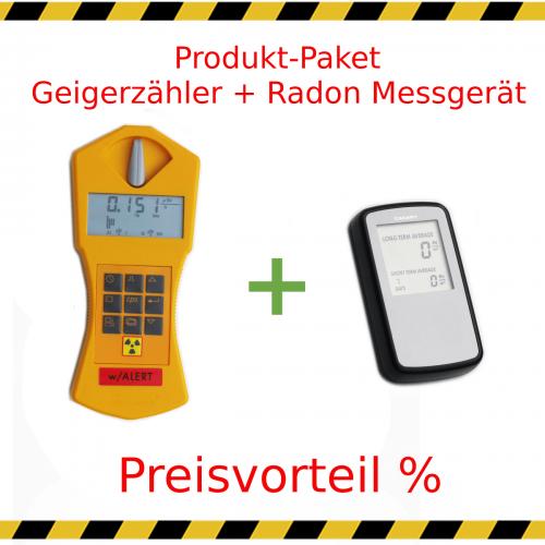 Geigerzähler und Radonmessgerät zur Miete