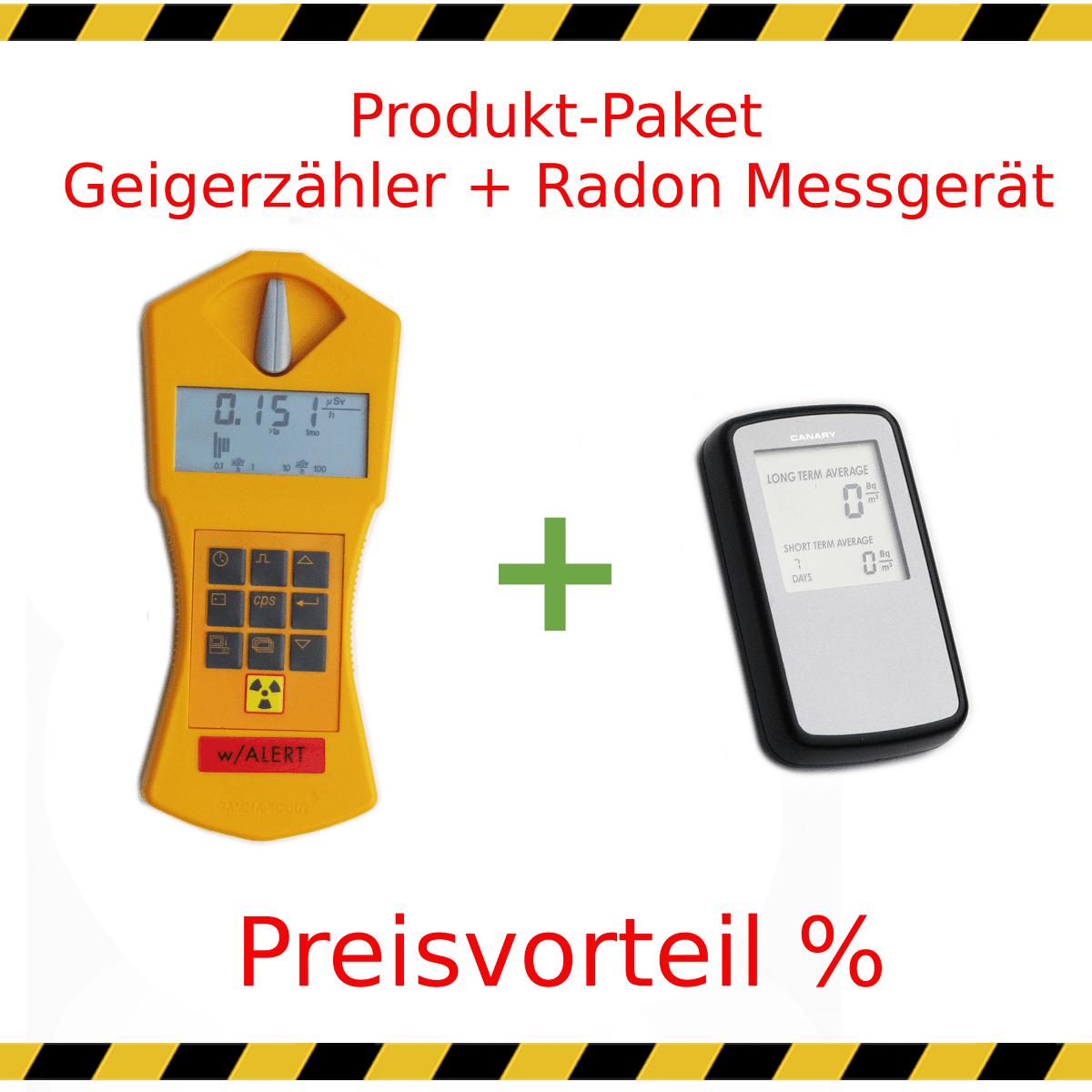 Super ☢ Geigerzähler und Radonmessgerät mieten - zum Sonderpreis! #DL_22