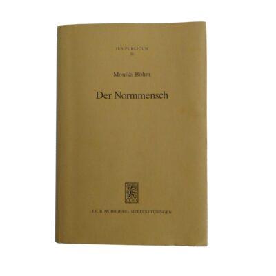 Buch Der Normmensch